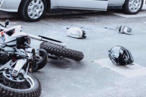 Motorcycle Crash Collision Car