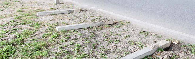 Negligent road works