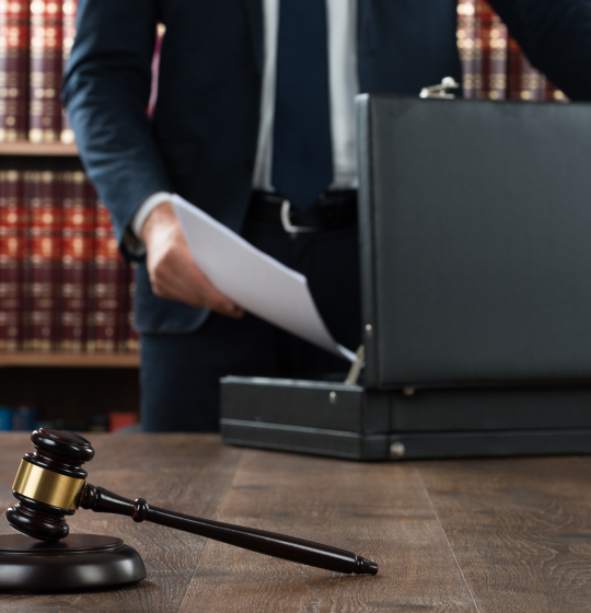 Attorney With Suitcase
